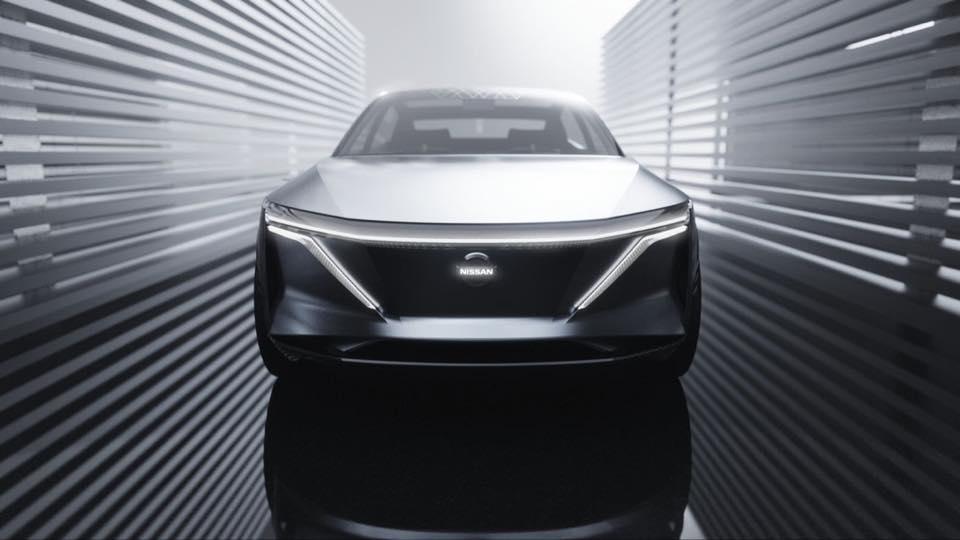 Nissan IMs, il concept elettrico Nissan