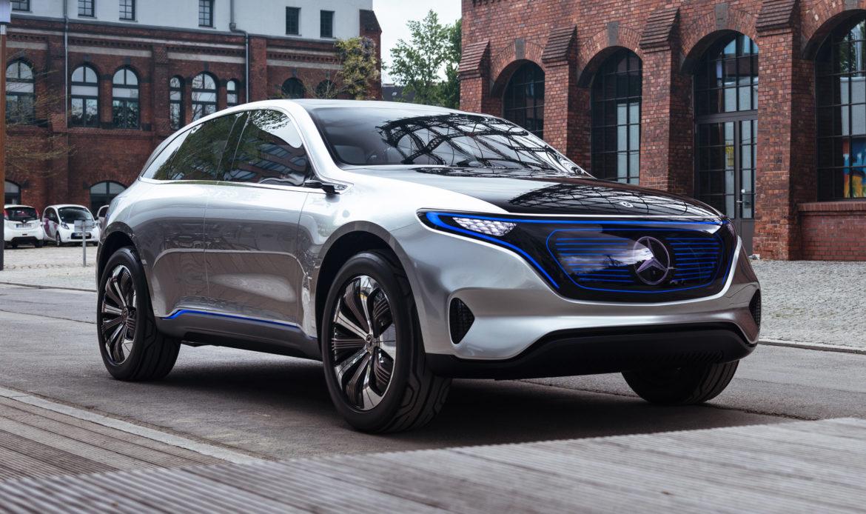 EQC SUV, ecco la prima elettrica Mercedes-Benz.