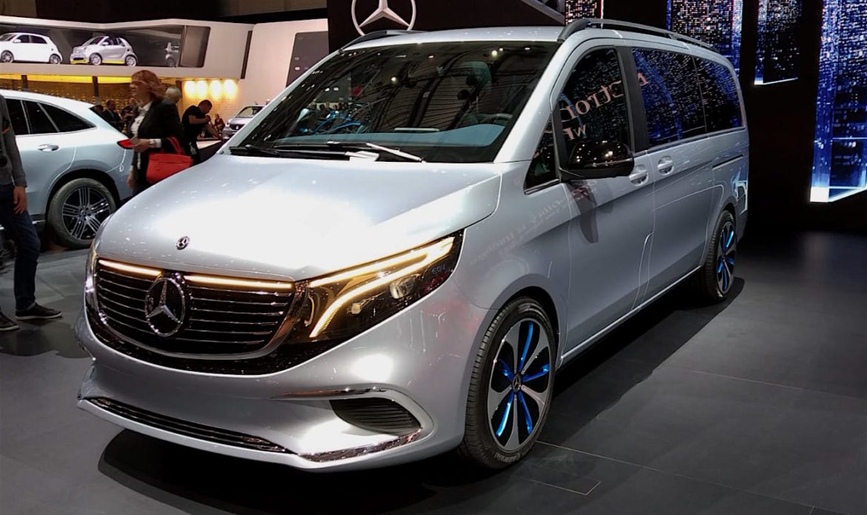 Mercedes-Benz concept EQV, anche il monovolume è elettrico