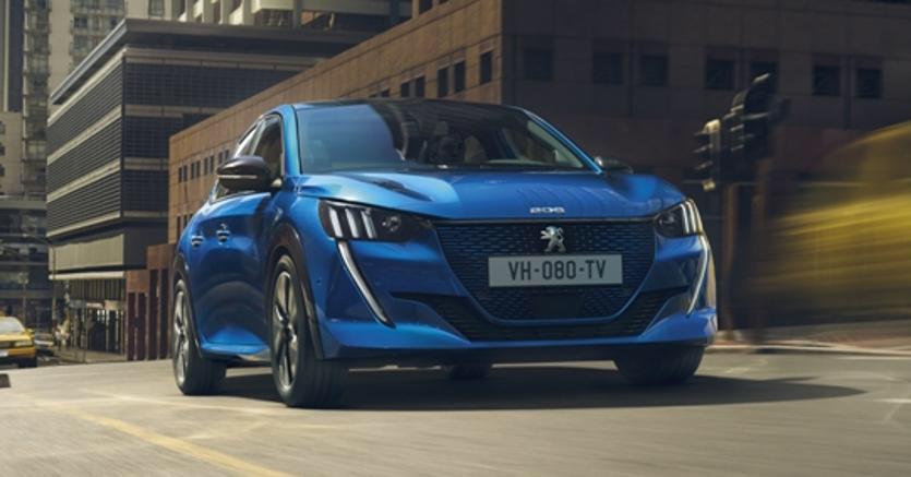 Peugeot e-208 a 30.450 Euro  sul mercato tedesco