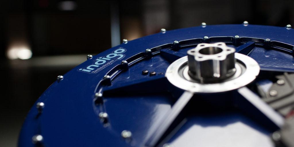 Il motore elettrico dentro la ruota