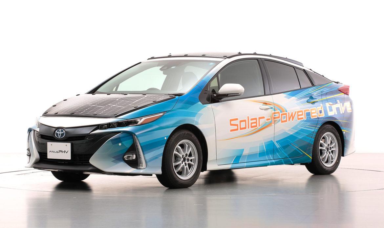 Anche Toyota pensa ad un futuro solare