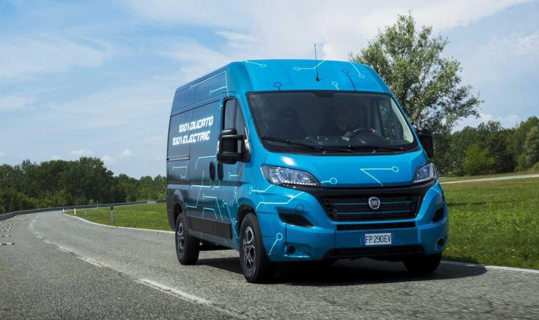 """Finalmente il mitico furgone Fiat è """"E-Ducato"""""""