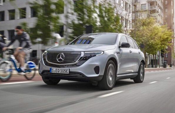 Mercedes EQC in tour italiano
