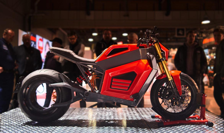RMK  E2 – La moto senza mozzo ma col motore nella ruota
