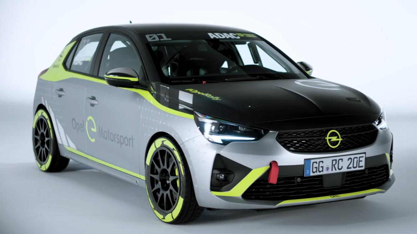 Opel annuncia la versione rally della Opel Corsa-E.