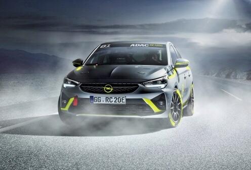 Opel presenta la Corsa-E da rally