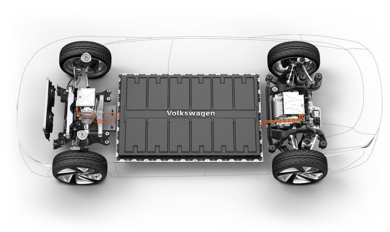 Volkswagen ID3 è costruita su piattaforma MEB