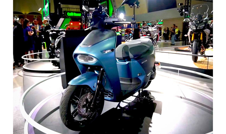 Lo scooter elettrico Yamaha EC-05 è stato lanciato ad agosto sul mercato di Taiwan