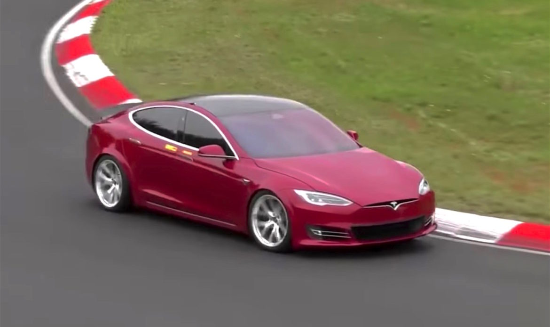 Tesla polverizza record Porsche Taycan al Nürburgring