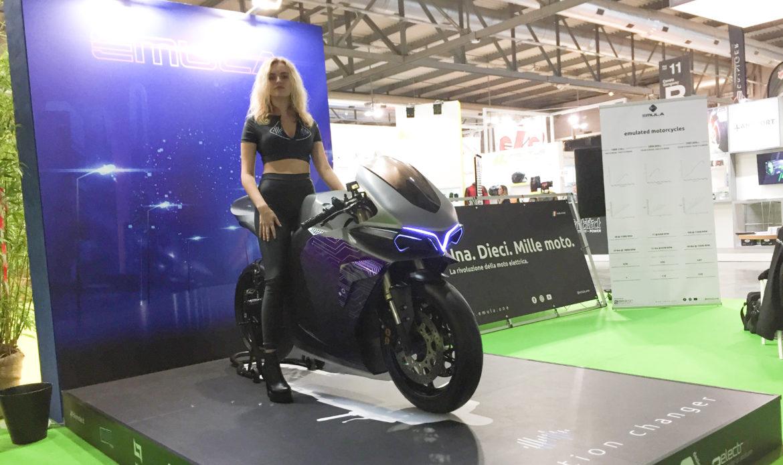 EMULA, la moto elettrica che riproduce le endotermiche