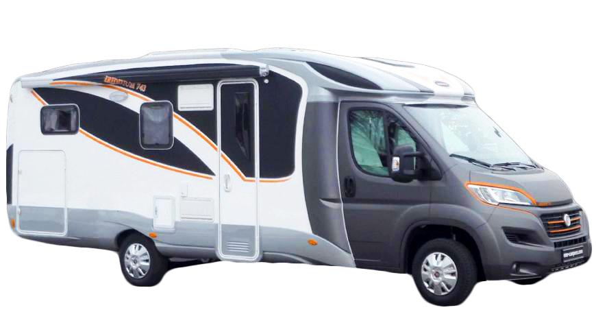 Iridium E Mobil è il primo camper interamente elettrico sul mercato.