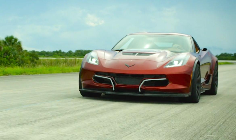 Genovation ha battuto il già suo record di velocità con la sua Corvette GXE completamente elettrica con oltre 340 km/h