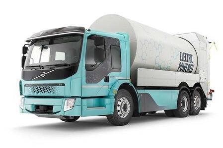 Volvo vende due camion elettrici