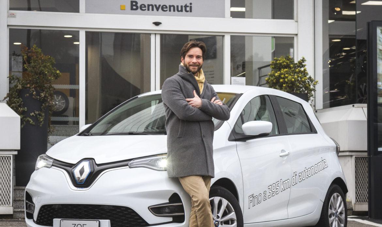 """Nuova Renault Zoe supera la """"prova d'attore"""""""