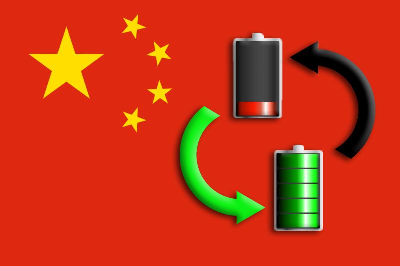 Il governo cinese incentiva le batterie modulari