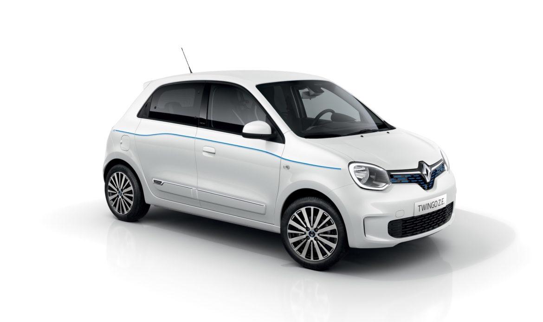 Renault Twingo ora e' anche elettrica