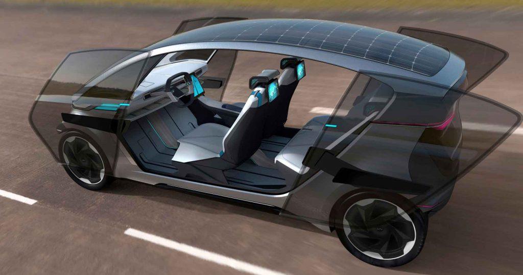 Vicina alla produzione l'auto a guida autonoma e ad energia solare
