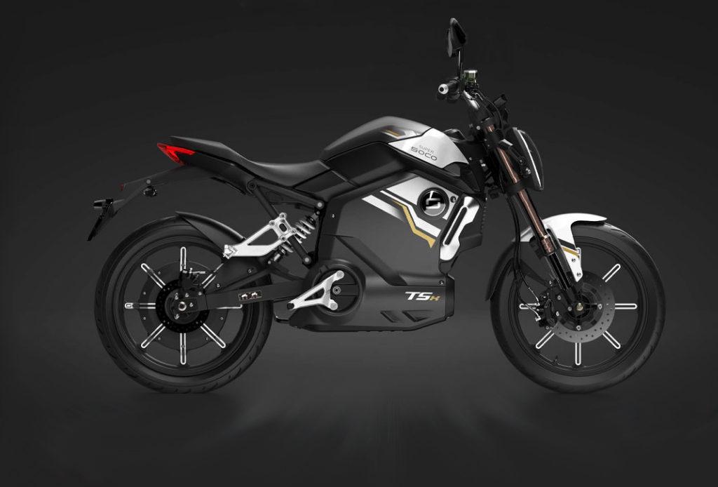 Super Soco Tsx, la moto elettrica economica