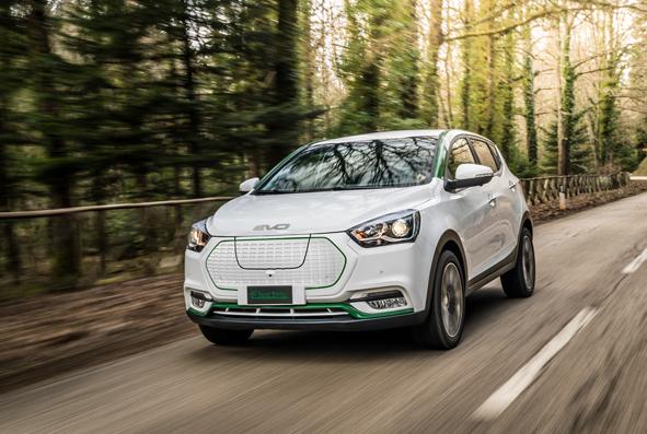 DR Evo Electric è l'auto elettrica più economica del mercato, ed è italiana