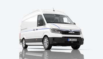 MAN eTGE – il furgone elettrico per le aree urbane ora costa meno