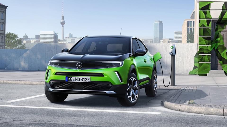 Svelata Opel Mokka-e