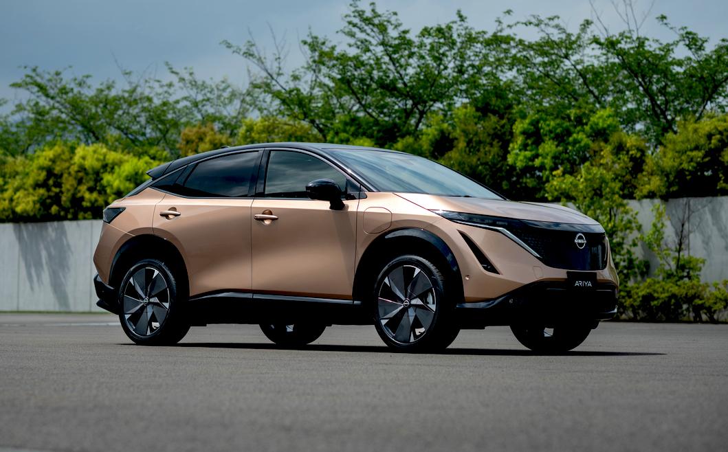 Debutto del crossover elettrico Nissan Ariya