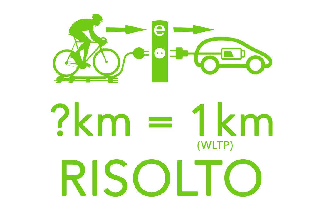 Ecco quanto si pedala per 1 km in EV