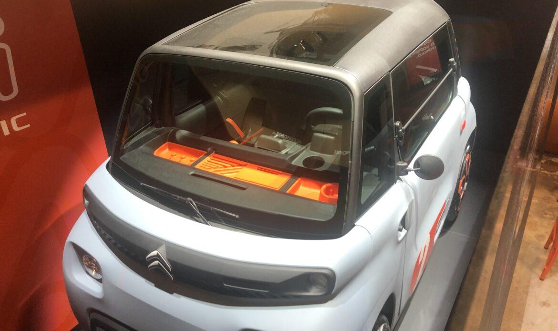 """Citroën Ami è il quadriciclo elettrico """"per tutti"""""""
