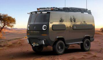 eBussy, il mini furgone elettrico ultra versatile che si ricarica col sole