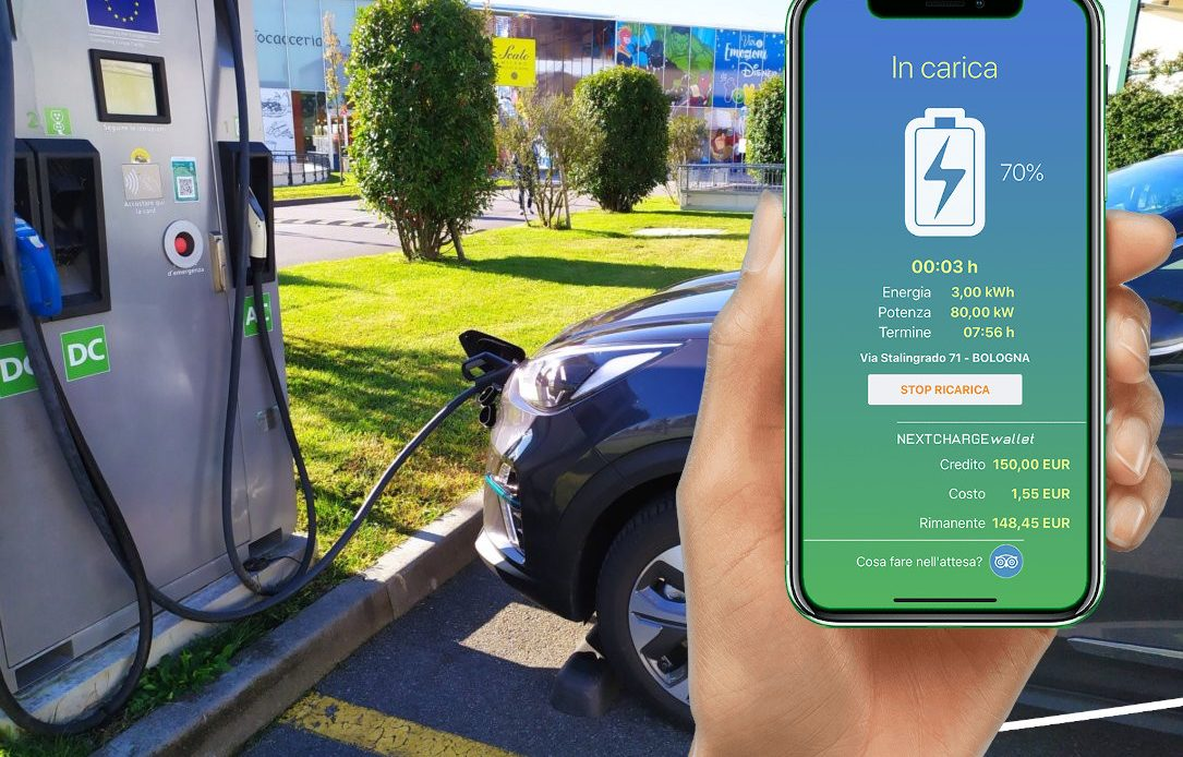 Ricaricare con Nextcharge